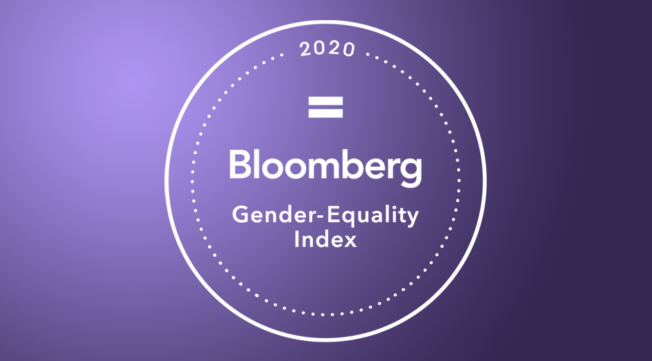 Bloomberg Gender-Equality Logo