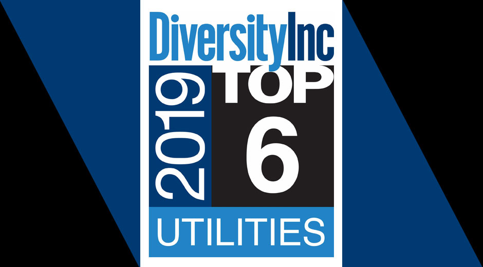 DiversityInc Top 6 Utilities logo