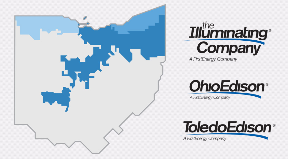 Ohio Utilities Map